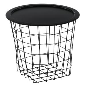 Produkt Príručný stolík, čierna, MOKAD
