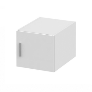 Produkt Nadstavec na skriňu, biela, INVITA TYP 6