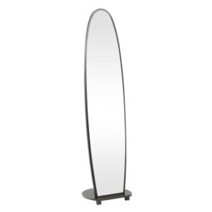 Produkt Zrkadlo na kolieskach, čierna, ORKAN