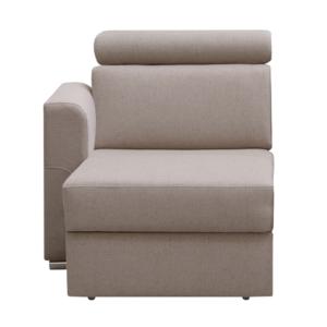 Produkt Otoman OTT 1B ZP na objednávku k luxusnej sedacej súprave, béžová, ľavý, MARIETA