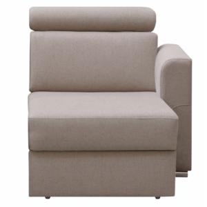Produkt Otoman OTT 1B ZP na objednávku k luxusnej sedacej súprave, béžová, pravý, MARIETA