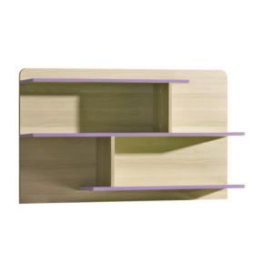 Produkt Polica, kombinovaná, jaseň/fialová, EGO L8