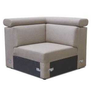 Produkt Rohová časť na objednávku k luxusnej sedacej súprave, béžová, MARIETA