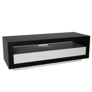 Produkt RTV stolík, čierna/biela, AGNES