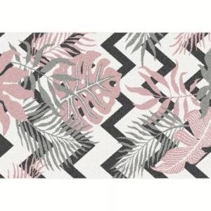 Produkt Koberec, viacfarebný, vzor listy, 67×120, SELIM