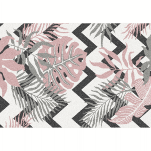 Produkt Koberec, viacfarebný, vzor listy, 57×90, SELIM