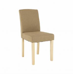 Produkt Jedálenská stolička, béžová/buk, SELUNA