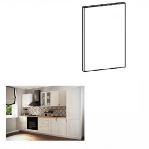 Produkt Dvierka na vstavanú umývačku riadu, 44, 6×57, sosna Andersen, SICILIA