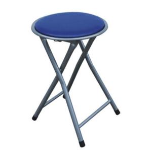 Produkt Skladací taburet/stolička, modrá, IRMA