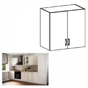 Produkt Horná skrinka G80, biela/sosna Andersen, SICILIA
