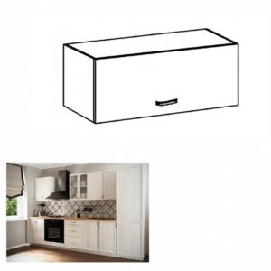 Produkt Horná skrinka G80K, biela/sosna Andersen, SICILIA