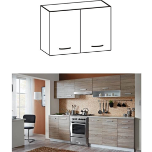 Produkt Skrinka do kuchyne, horná, dub sonoma/biela, CYRA NEW G 80
