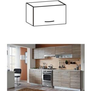 Produkt Skrinka do kuchyne, horná, dub sonoma/biela, CYRA NEW G0-50