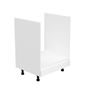 Produkt Skrinka na spotrebiče, biela/biela extra vysoký lesk, AURORA D60ZK
