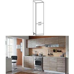 Produkt Potravinová skrinka do kuchyne, dub sonoma/biela, CYRA NEW S-50