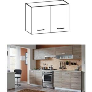 Produkt Skrinka do kuchyne, horná, dub sonoma/biela, CYRA NEW G 60