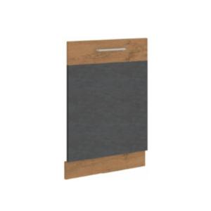 Produkt Dvierka na vstavanú umývačku riadu, sivá matná/dub lancelot, VEGA ZM 713×596