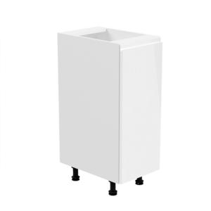 Produkt Spodná skrinka, biela/biela extra vysoký lesk, pravá, AURORA D30