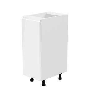 Produkt Spodná skrinka, biela/biela extra vysoký lesk, ľavá, AURORA D30