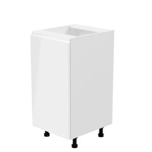 Produkt Spodná skrinka, biela/biela extra vysoký lesk, ľavá, AURORA D40