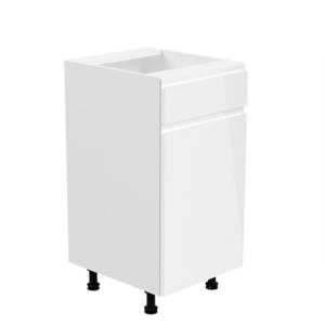 Produkt Spodná skrinka, biela/biela extra vysoký lesk, pravá, AURORA D40S1