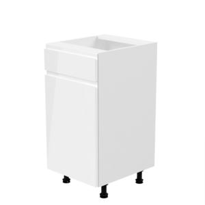 Produkt Spodná skrinka, biela/biela extra vysoký lesk, ľavá, AURORA D40S1