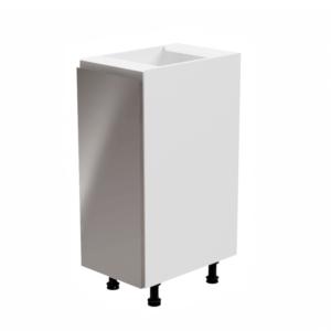 Produkt Spodná skrinka, biela/sivá extra vysoký lesk, ľavá, AURORA D30