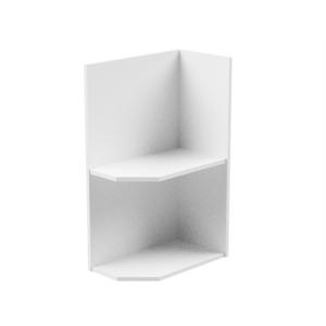 Produkt Spodná skrinka, biela, pravá, AURORA D25PZ