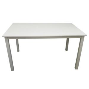 Produkt Jedálenský stôl, biela, 135 cm, ASTRO