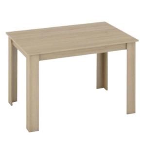 Produkt Jedálenský stôl, dub sonoma, 120×80, KRAZ