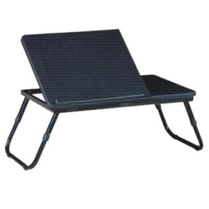 Produkt Stolík na notebook/držiak na tablet, čierna, EVALD
