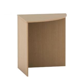 Produkt Stôl rohový oblúkový, buk, TEMPO ASISTENT NEW 024