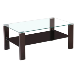 Produkt Konferenčný stolík, wenge/sklo, JAGO