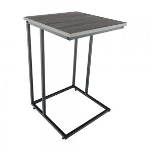Produkt Príručný stolík, dub/čierna, KALA