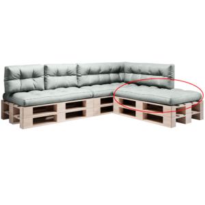 Produkt Vankúš na paletové sedenie, neomint, ANIKA TYP 1