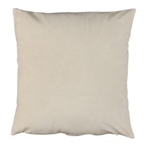 Produkt Vankúš, zamatová látka smotanová, 60×60, OLAJA TYP 1