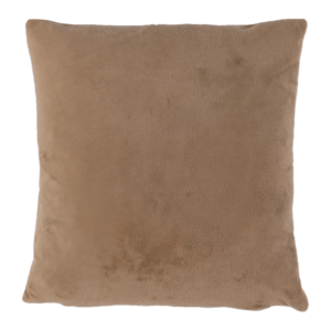 Produkt Vankúš, zamatová látka svetlohnedá, 60×60, OLAJA TYP 4
