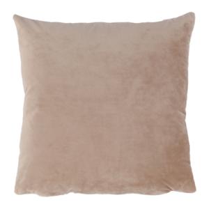 Produkt Vankúš, zamatová látka béžová, 60×60, OLAJA TYP 9