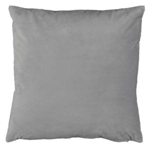 Produkt Vankúš, zamatová látka svetlosivá, 45×45, ALITA TYP 12