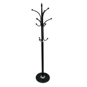 Produkt Vešiak, kov/mramor čierna, BELVIN