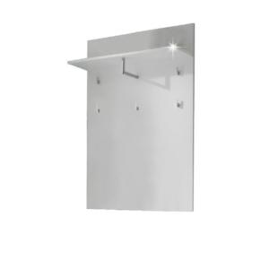Produkt Vešiakový panel, biela extra vysoký lesk, SPACE