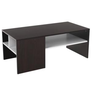 Produkt Konferenčný stolík, orech/biela, VIENNA NEW