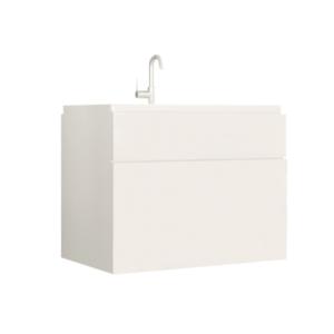 Produkt Skrinka pod umývadlo, biela/biely extra vysoký lesk HG, MASON WH13