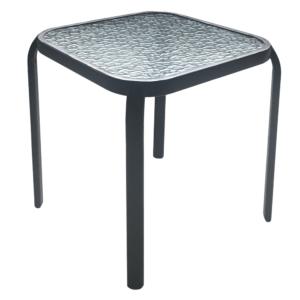 Produkt Záhradný konferenčný stôl, čiena oceľ/tvrdené sklo, RAMOL
