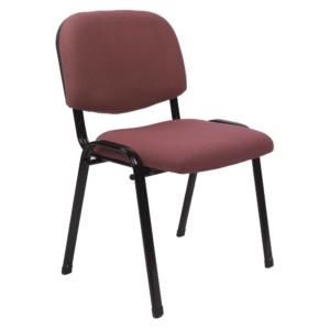 Produkt Kancelárska stolička, červenohnedá, ISO 2 NEW